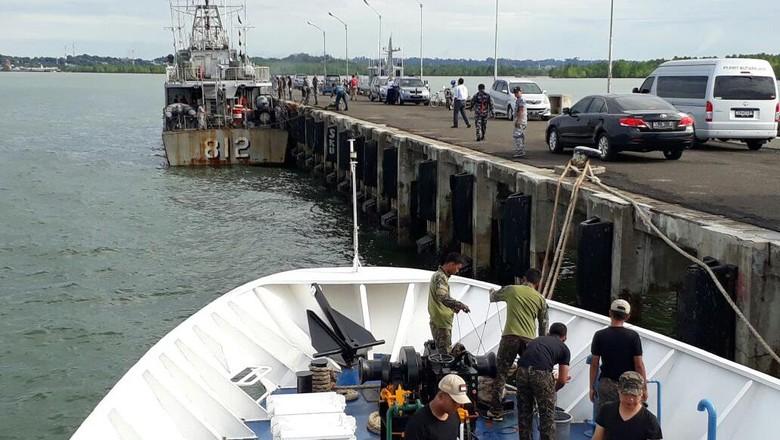 Speedboat Rombongan Kemendes Terombang-ambing di Perairan Tarakan