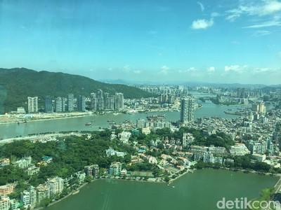 Keren Banget! Panorama Makau dari Ketinggian