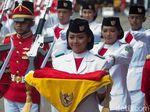 Fariza Pembawa Bendera Pusaka Pelihara Ular, Ini Kata Orangtuanya