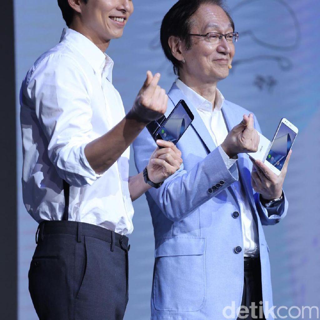 Aksi Gong Yoo Sapa Penggemar di Taiwan