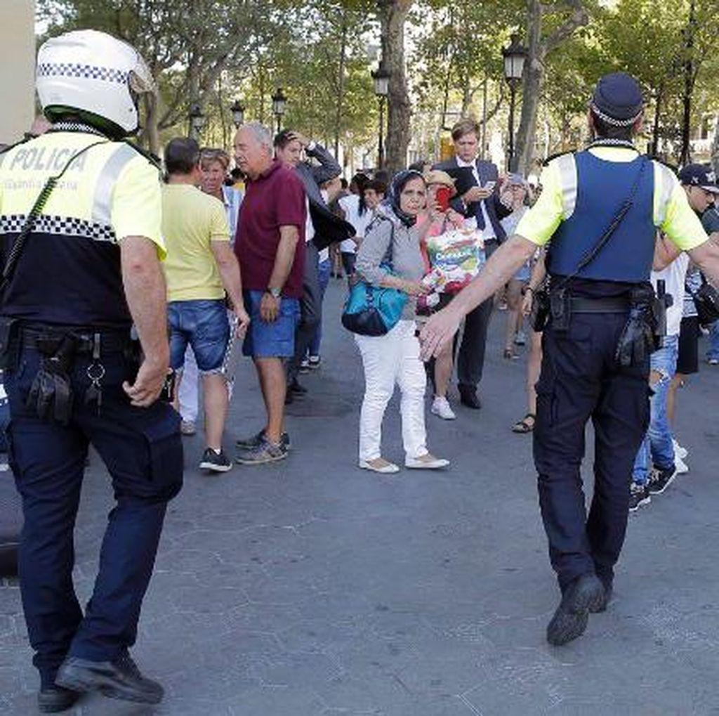 Teror di Barcelona, Polisi : 1 Tewas dan 32 Orang Terluka