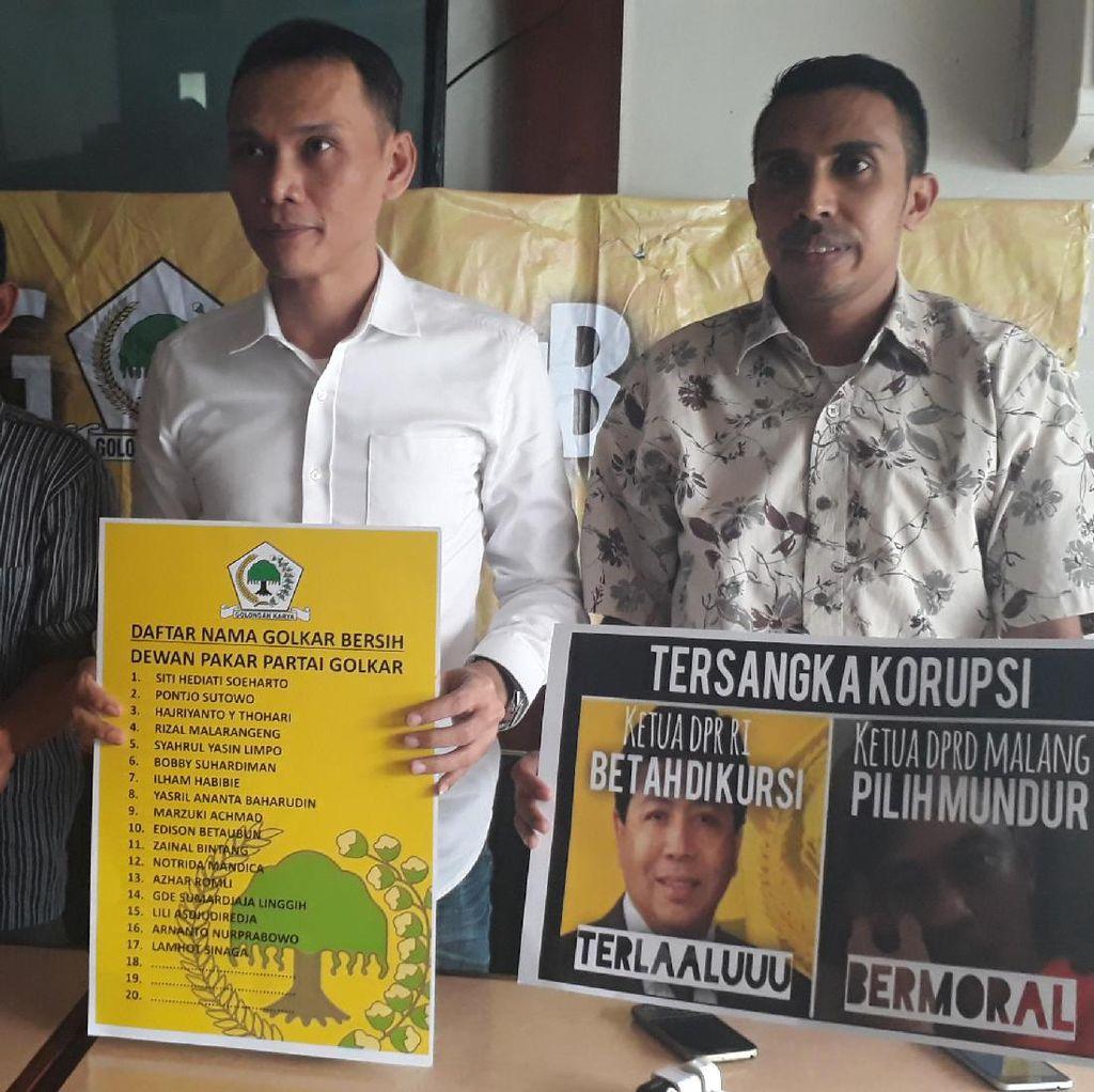 GMPG Klaim Pendukung Golkar Bersih Tambah Jadi 34 Pengurus
