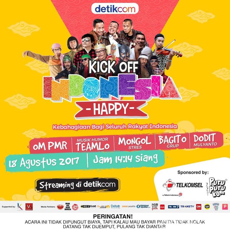 Ayo Nonton Serunya Indonesia Happy di detikcom Sekarang!