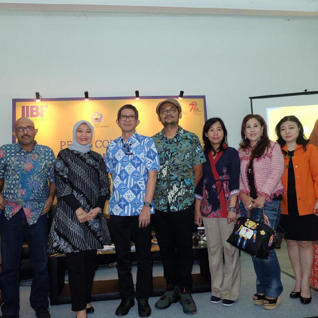 Bursa Naskah hingga Jualan Hak Cipta, Agenda Penting di IIBF 2017