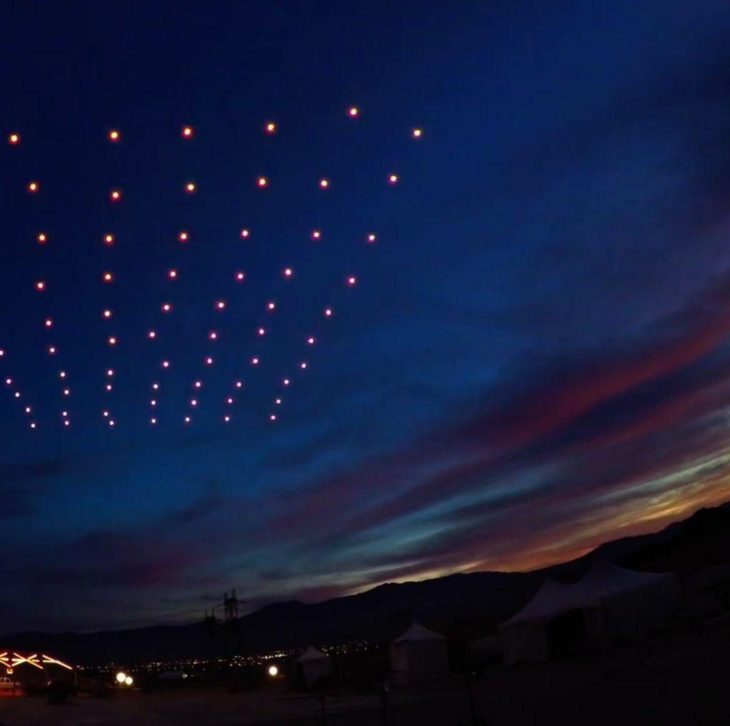 300 Drone Siap Meriahkan Langit Malam Jakarta