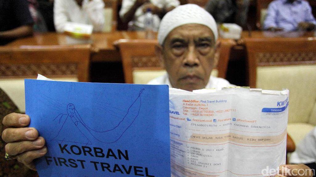 Total Utang Sementara First Travel Rp 118 Miliar