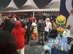 Jokowi, JK dan Djarot Hadiri Countdown Asian Games di Monas