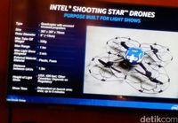 Ini Spek 300 Drone di Monas yang Manggung Bareng Jokowi dan SNSD
