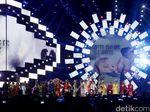 Gemerlapnya Countdown Asian Games 2018 di Jakarta dan Palembang