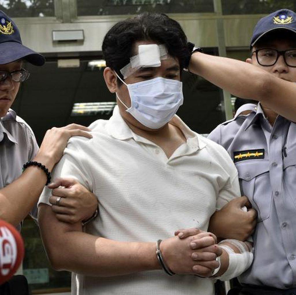 Pria dengan Samurai Serang Penjaga Kantor Kepresidenan Taiwan