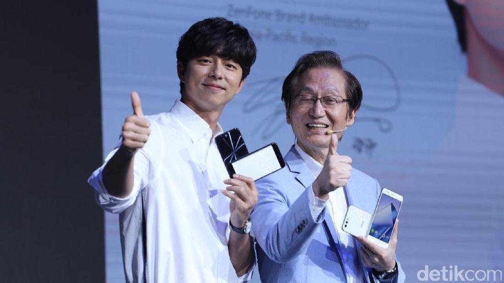 Asus Resmikan Gong Yoo Jadi Brand Ambassador Zenfone 4