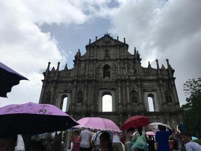 Foto: Reruntuhan Gereja yang Instagenic di Makau
