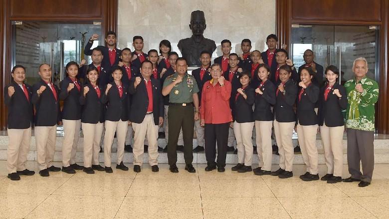 Pesan Ketum FORKI untuk Karateka Indonesia yang Akan Bertarung di SEA Games 2017