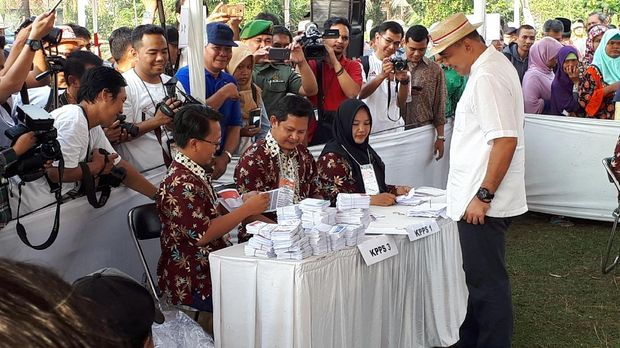 Simulasi nasional penghitungan dan pemungutan suara Pemilu 2019