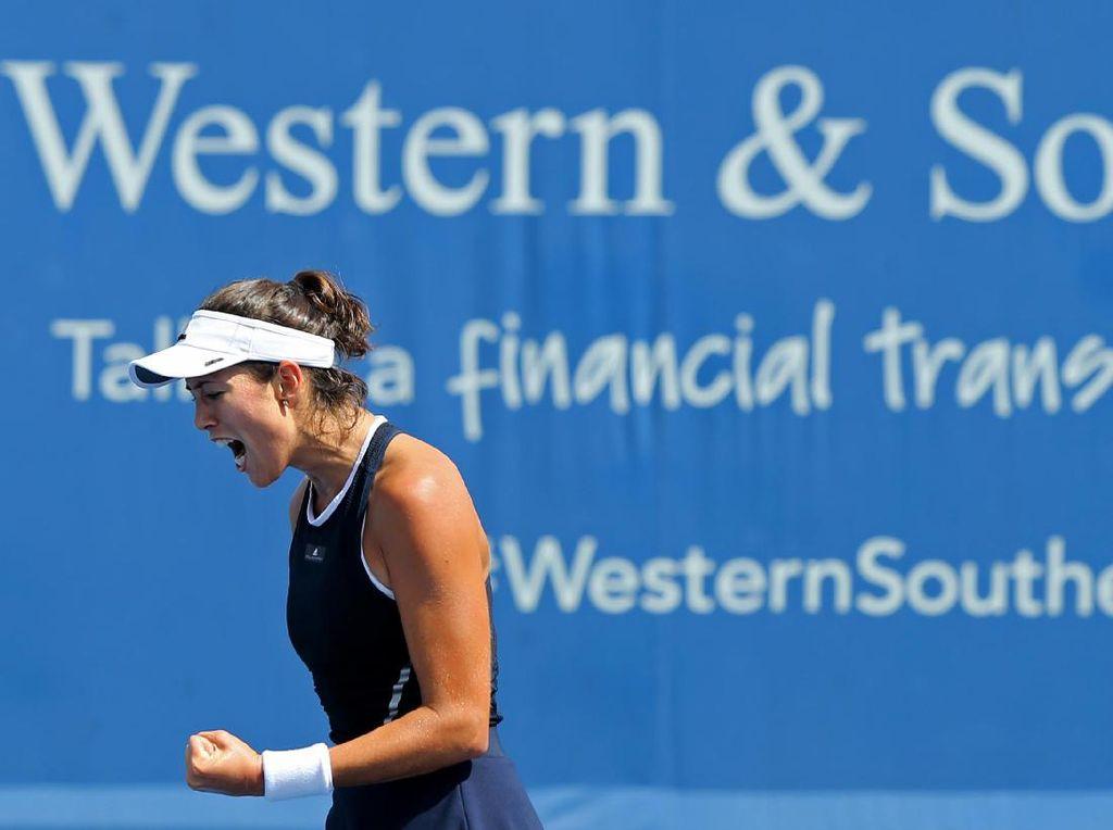 Muguruza Tantang Pliskova di Semifinal