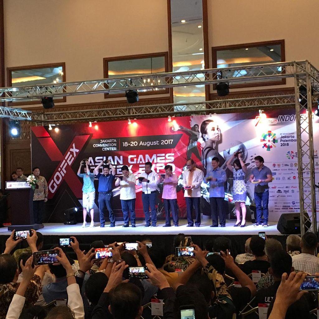 Banting Sand Belt, Wapres JK Resmikan Asian Games GOIFEX 2017