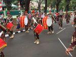 Tarian Adat hingga Marching Band Meriahkan Karnaval di Kopassus