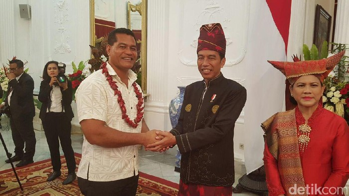 Foto: Dok. Menteri Komunikasi dan Teknologi Informasi Samoa, Afamasaga Lepuiai Rico Tupai