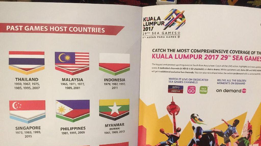 Bendera Indonesia Terbalik di Sea Games 2017 Lukai Rasa Persahabatan