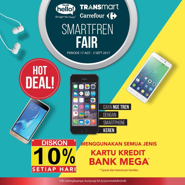 Beragam Promo Spesial Smartphone di Transmart Carrefour