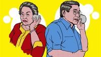 Jejak-jejak Hubungan Megawati-SBY