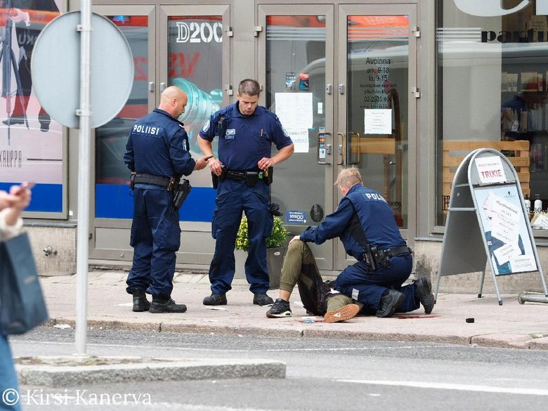 Penikaman di Finlandia Diselidiki sebagai Kejahatan Teror