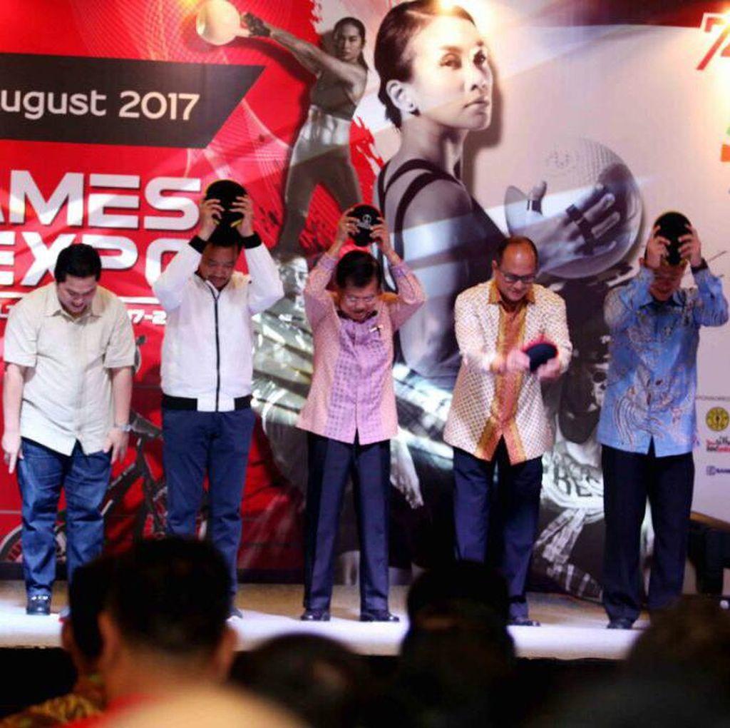Wapres JK Resmikan Pembukaan Asian Games GOIFEX 2017
