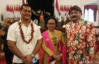 Saat Menteri Komunikasi Samoa Terpesona dengan Indonesia