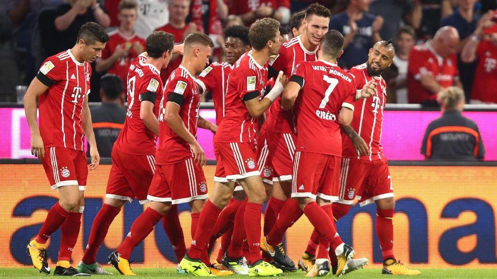 Bayern Buka Bundesliga 2017/2018 dengan Kemenangan
