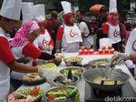 Meriahkan HUT RI ke 72, Warga Yogyakarta Ikut Lomba Buat Lotek