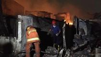 Kebakaran di Kebayoran Lama, 90 Keluarga Mengungsi