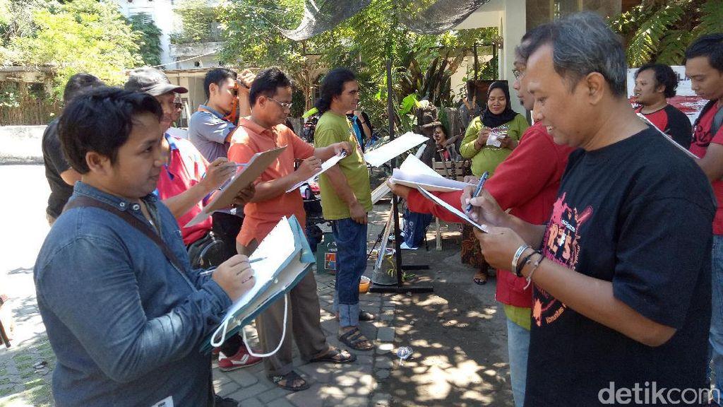 Komunitas Ini Rayakan HUT ke-72 RI dengan Melukis Wajah