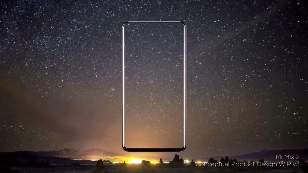 Kerennya Tampilan Xiaomi Mi Mix 2