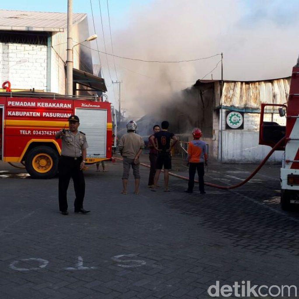 Pabrik Mebel di Pasuruan Ini Kembali Terbakar