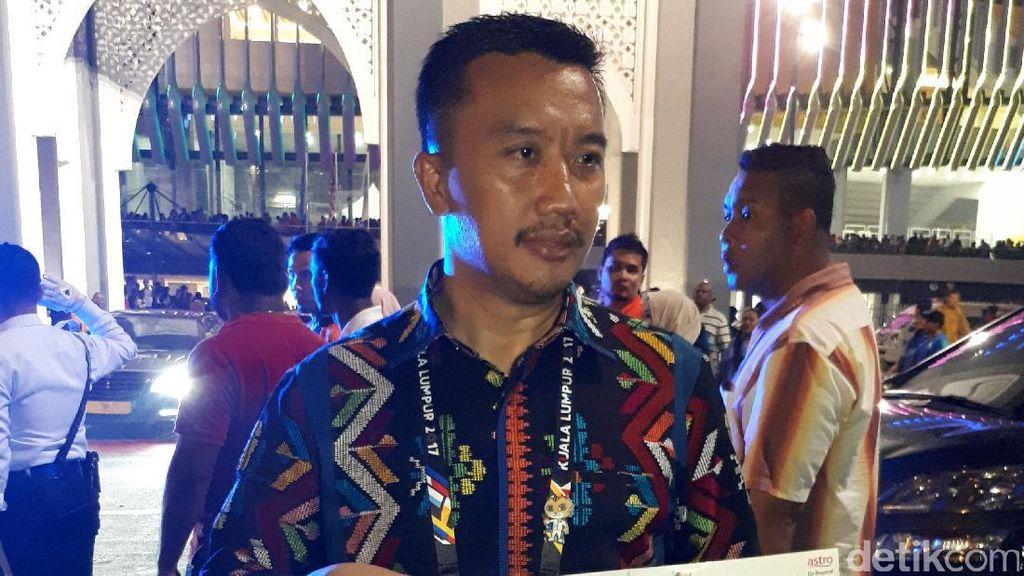 Tanggapan Menpora soal Insiden Bendera Indonesia Terbalik di SEA Games 2017