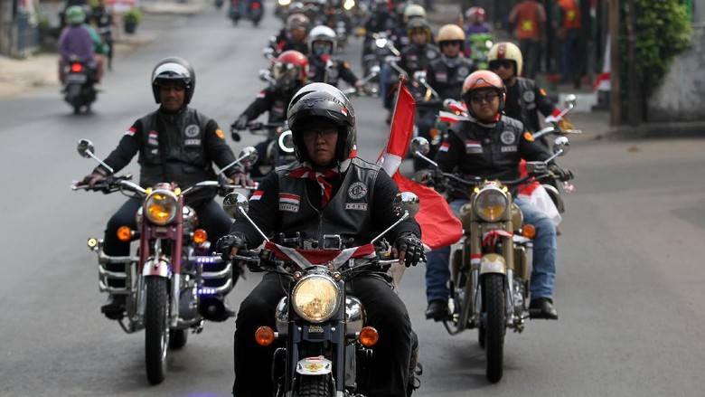 Parade Kemerdekaan Royal Riders Indonesia