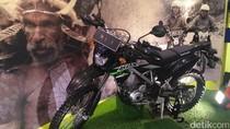 Wah, Ada Replika Motor Jokowi saat Arungi Papua