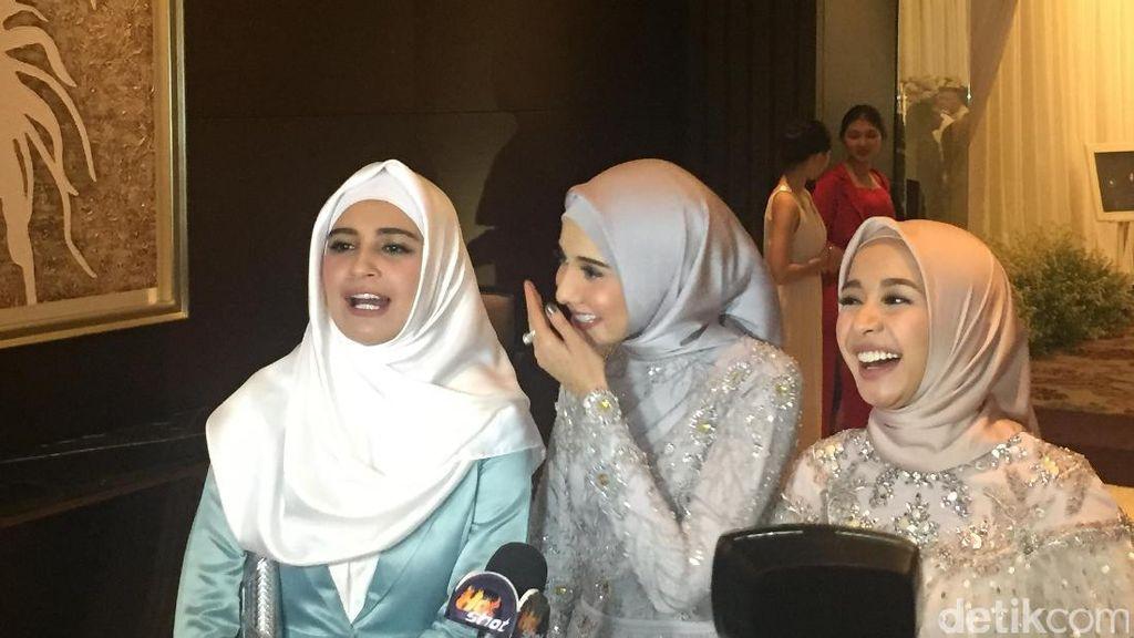 Jelang Nikah, Laudya Cynthia Bella Semringah Banget!