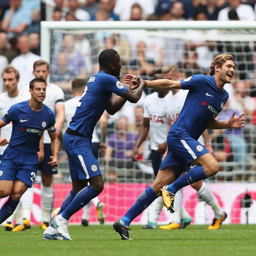 Marcos Alonso Menangkan Chelsea di Kandang Tottenham