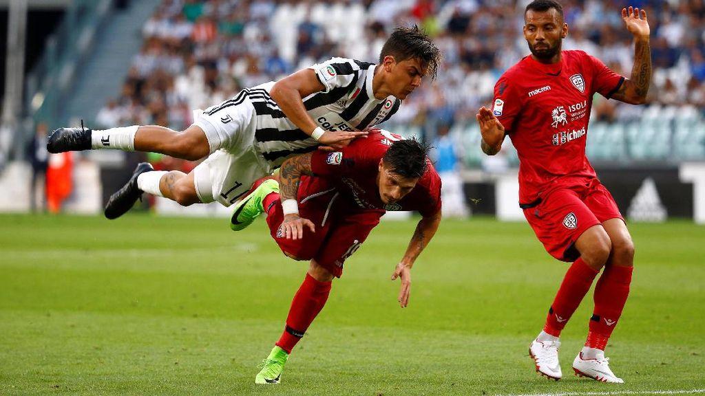 Juventus Lumat Cagliari 3-0 di Laga Pembuka Serie A