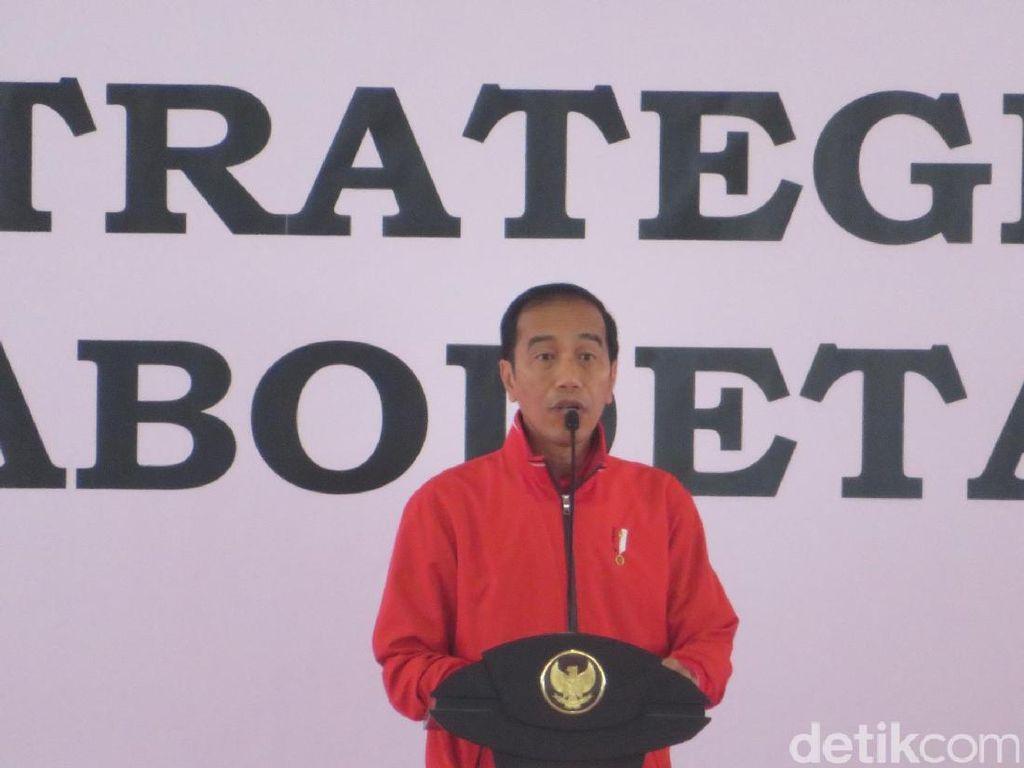 Jokowi Singgung Sulitnya Urus Sertifikat Taman BMW Saat Jadi Gubernur