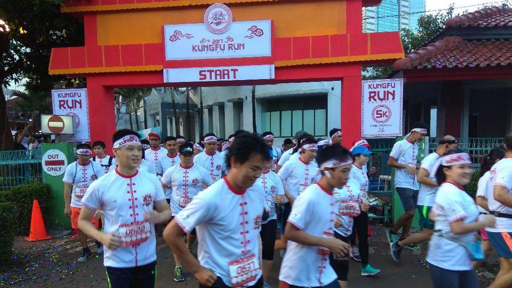 Unik! Ajang Lari Ini Bernuansa Kung Fu, Juga Punya Misi Sosial