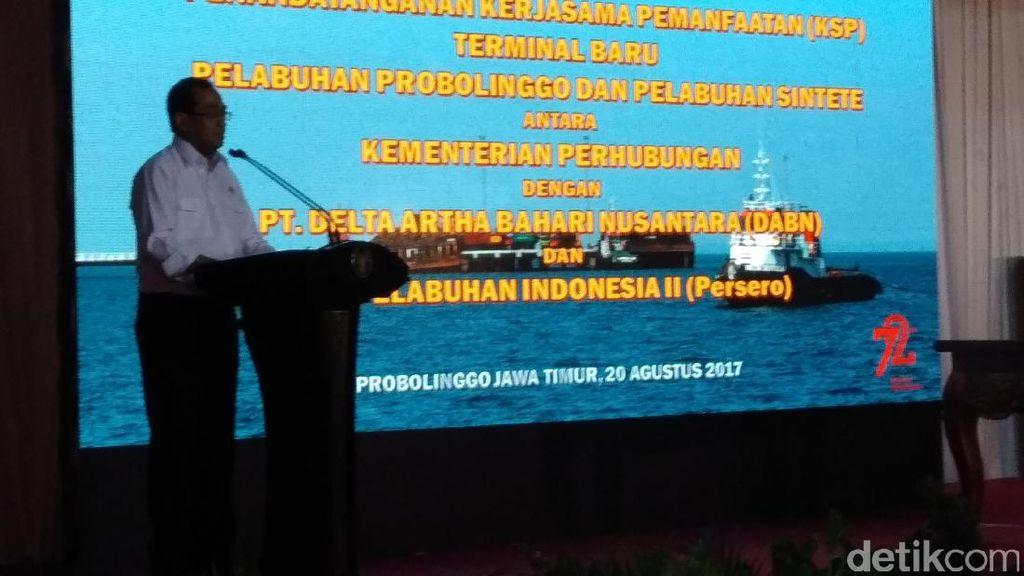 Kemenhub Gandeng Pemkot Kembangkan Pelabuhan Probolinggo