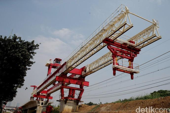 Proyek Double Double Track Manggarai-Cikarang Terus Dikebut