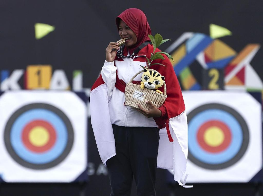 Foto: Inilah Peraih Medali dari Panahan di SEA Games 2017