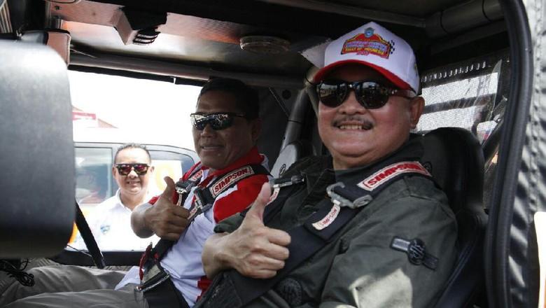 Gubernur Sumsel Buka Kejurnas Reli Ogan Ilir