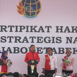 Jokowi Akan Bagikan 7 Juta Sertifikat Tanah di 2018
