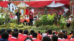 Bupati Anas Ingatkan Pesan Bung Karno Saat Hadiri Kemah Kebangsaan