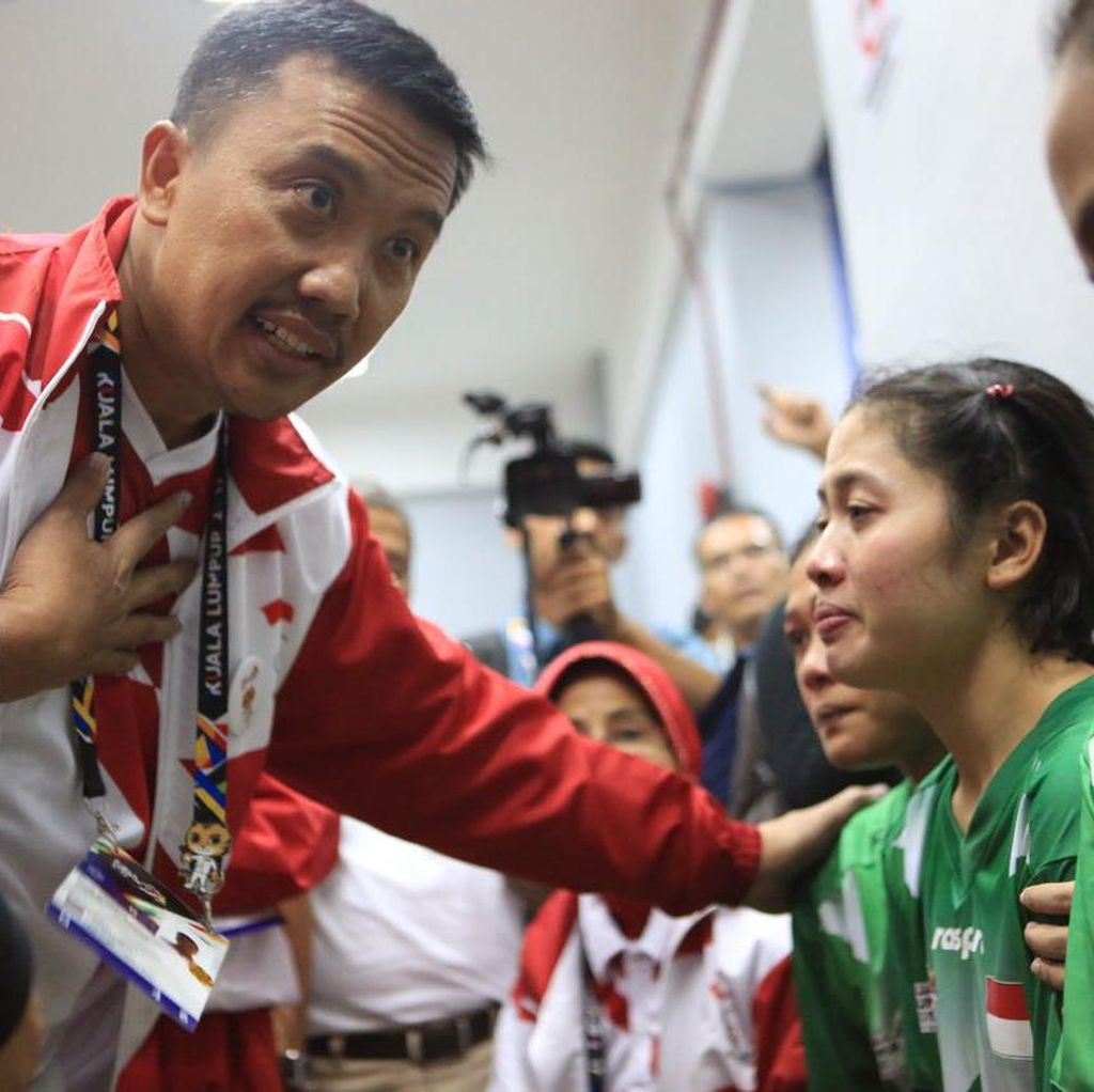 Hedeh! Sepak Takraw Putri Indonesia Dicurangi Wasit Sea Games 2017