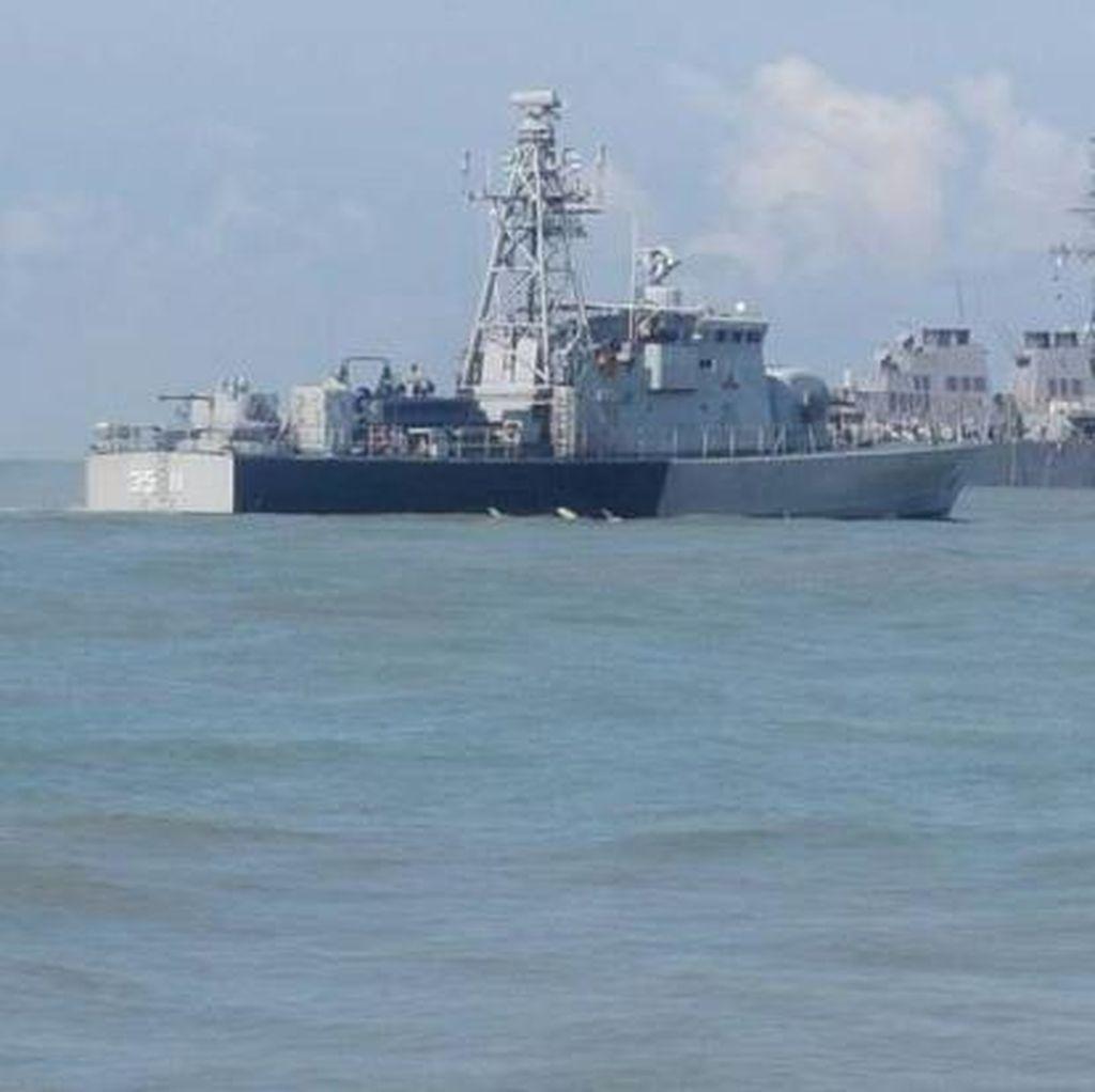 10 Pelaut AS Hilang Usai Tabrakan Kapal Militer, Malaysia Ikut Cari